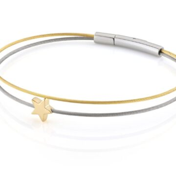 Clic Thinking-of-you-armband sterretje goud