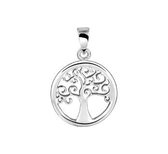 13.23652 zilveren hanger levensboom