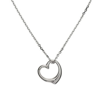 13.22788 zilveren collier met hartje