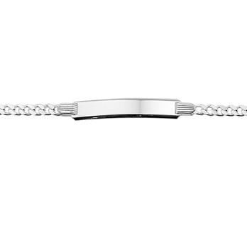 13.24677 zilveren graveer armband