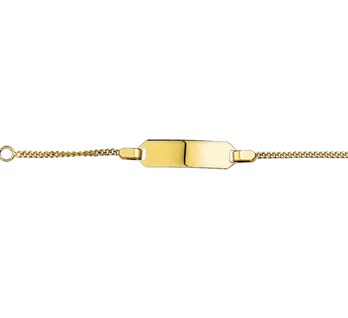 40.18444 Gouden graveer armband