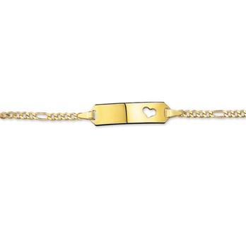 40.18450 Gouden armband graveer