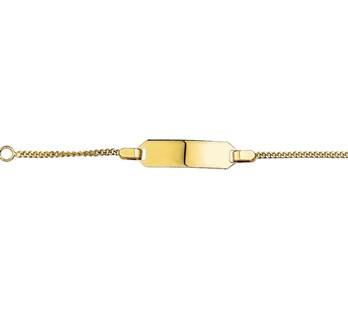40.18454 Gouden armband gravuur