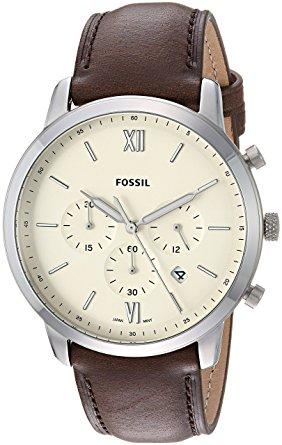 Fossil FS5380 herenhorloge staal