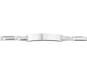 13.22974 zilveren graveer armband