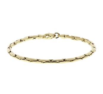 40.17903 Gouden armband schakel