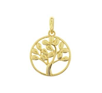 40.18545 Gouden hanger levensboom